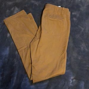 Gap Chinos 33 W 34 L The Lived In Slim Pants